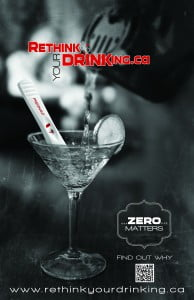 Rethink Your Drinking... Zero Matters