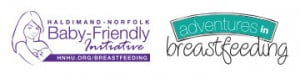 BFI logo and Adventures in Breastfeeding logo