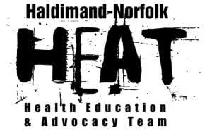 Haldimand Norfolk Heat Logo