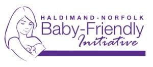 Haldimand Norfolk Baby Friendly Initiative logo