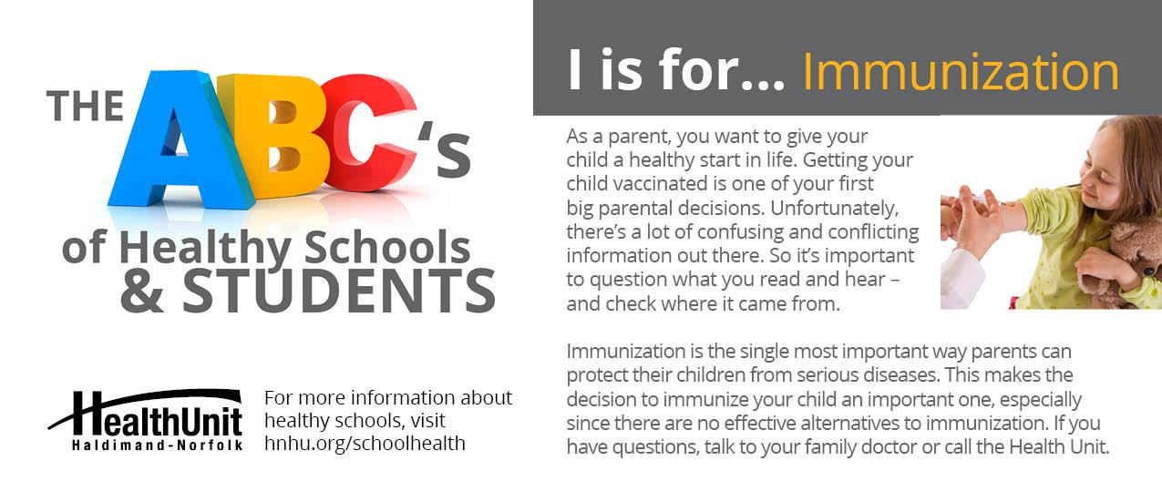 the importance of child immunization