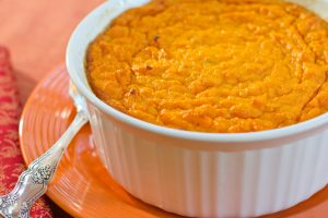 Beef, Corn and Sweet Potato Casserole