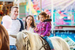 pony ride at fair