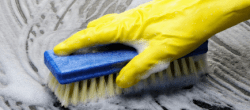 scrubbing surface