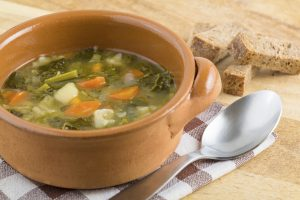 Swiss Chard and Potato Slow Cooker Soup