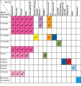schedule-vaccine