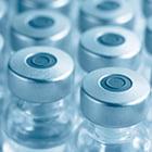 bottles of vaccine