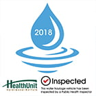 water hauler inspection sticker
