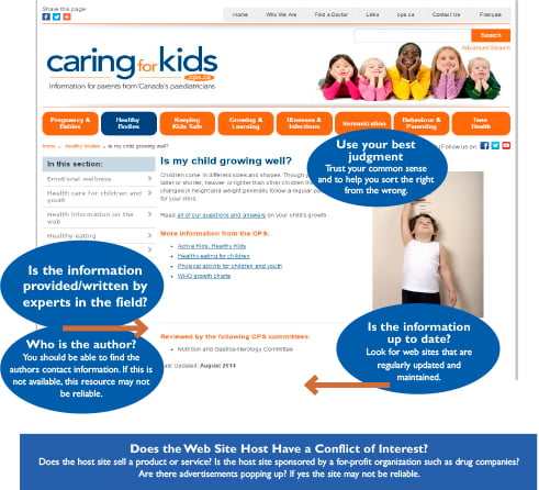 caring for kids.ca
