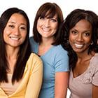 3 young women